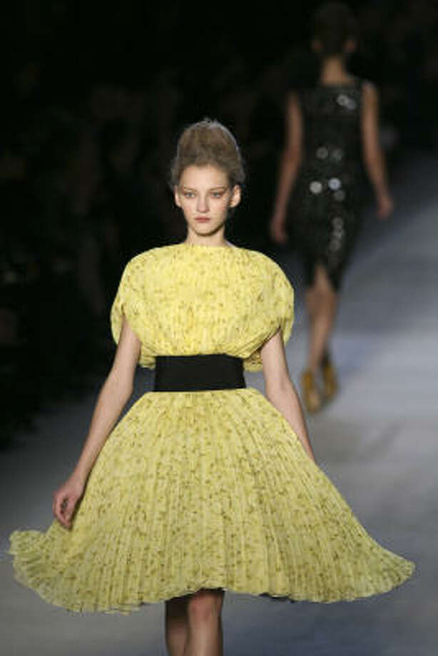 Giambattista Valli Photo: JACQUES BRINON, AP