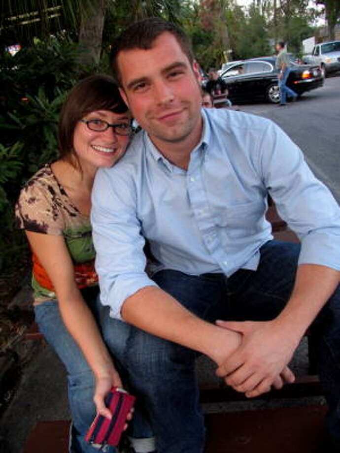 Emily Neves and Andrew Love Photo: Jordan Graber, For The Chronicle