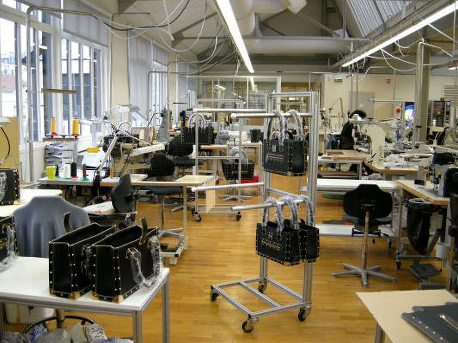 All Louis Vuitton hard-framed luggage, special orders, leather bags and limited-edition bags for fashion shows are made at this workshop in the Paris suburb of Asnières-sur-Seine. Photo: John Dascoulias