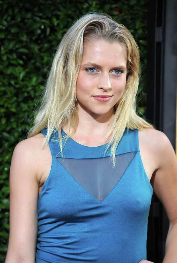 Actress Teresa Palmer attends the premiere Of DreamWorks Pictures' 'The Help' held at The Academy of MotiPicture Arts and Sciences, Samuel Goldwyn Theater in Beverly Hills, California. Photo: Frazer Harrison, Getty Images / 2011 Getty Images
