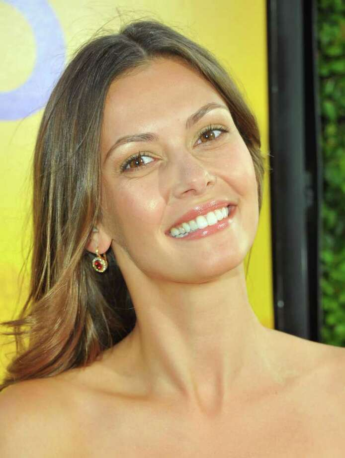 "Actress Olga Fonda attends the premiere of DreamWorks Pictures' ""The Help"" held at The Academy of MotiPicture Arts and Sciences, Samuel Goldwyn Theater in Beverly Hills, California. Photo: Alberto E. Rodriguez, Getty Images / 2011 Getty Images"