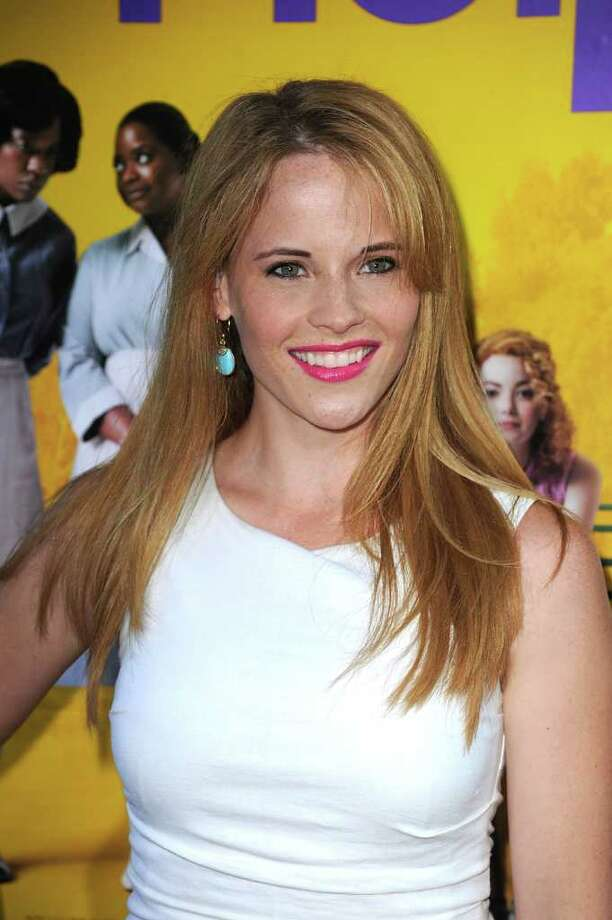 Actress Katie Leclerc attends the premiere Of DreamWorks Pictures' 'The Help' held at The Academy of MotiPicture Arts and Sciences, Samuel Goldwyn Theater in Beverly Hills, California. Photo: Frazer Harrison, Getty Images / 2011 Getty Images
