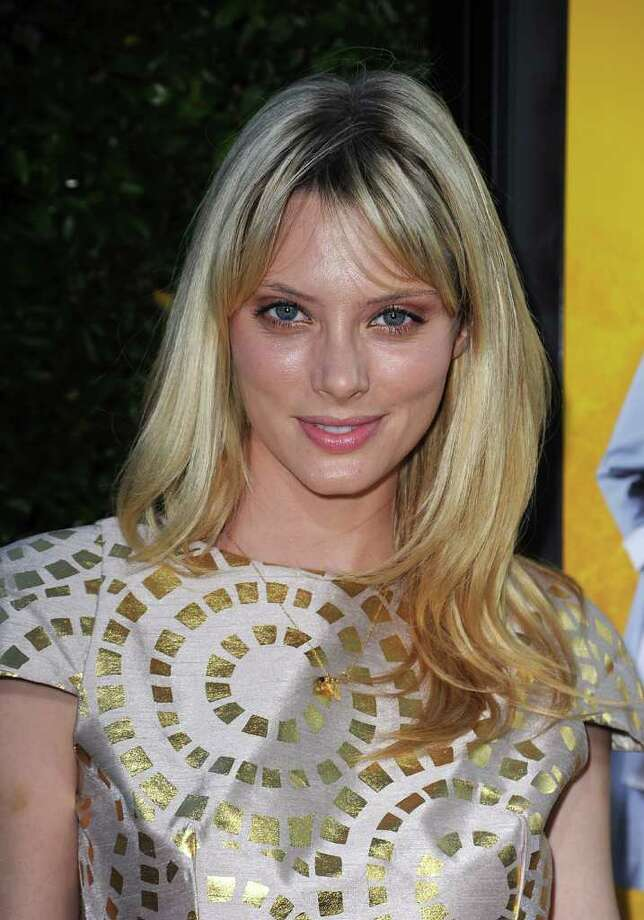 Actress April Bowlby attends the premiere Of DreamWorks Pictures' 'The Help' held at The Academy of MotiPicture Arts and Sciences, Samuel Goldwyn Theater in Beverly Hills, California. Photo: Frazer Harrison, Getty Images / 2011 Getty Images