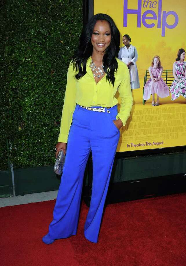 Actress Garcelle Beauvais attends the premiere Of DreamWorks Pictures' 'The Help' held at The Academy of MotiPicture Arts and Sciences, Samuel Goldwyn Theater in Beverly Hills, California. Photo: Frazer Harrison, Getty Images / 2011 Getty Images