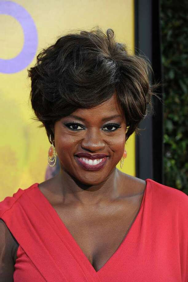 Actress Viola Davis attends the premiere Of DreamWorks Pictures' 'The Help' held at The Academy of MotiPicture Arts and Sciences, Samuel Goldwyn Theater in Beverly Hills, California. Photo: Frazer Harrison, Getty Images / 2011 Getty Images