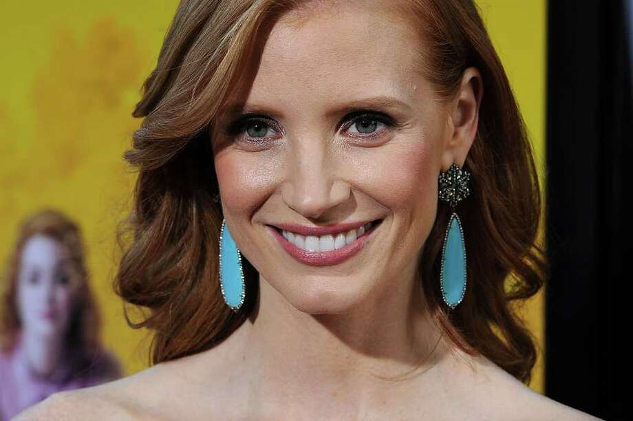Actress Jessica Chastain attends the premiere Of DreamWorks Pictures' 'The Help' held at The Academy of MotiPicture Arts and Sciences, Samuel Goldwyn Theater in Beverly Hills, California. Photo: Frazer Harrison, Getty Images / 2011 Getty Images