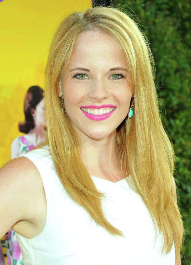 "Actress Katie Leclerc attends the premiere of DreamWorks Pictures' ""The Help"" held at The Academy of MotiPicture Arts and Sciences, Samuel Goldwyn Theater in Beverly Hills, California. Photo: Alberto E. Rodriguez, Getty Images / 2011 Getty Images"