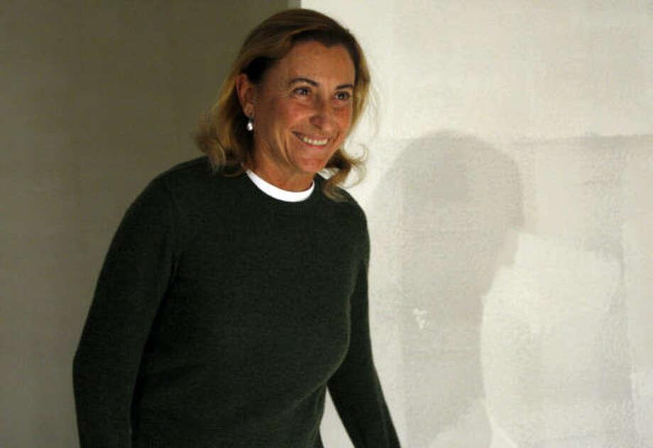 Saturday: Fashion designer Miuccia Prada turns 65. Photo: LUCA BRUNO, AP