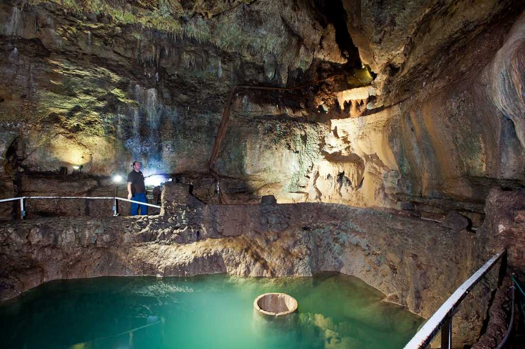 Cool Caves San Antonio Express News
