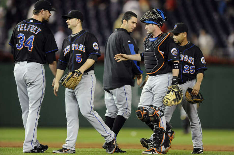 N.L. Leader: New York Mets Record: 86-69. Photo: Greg Fiume, Getty Images
