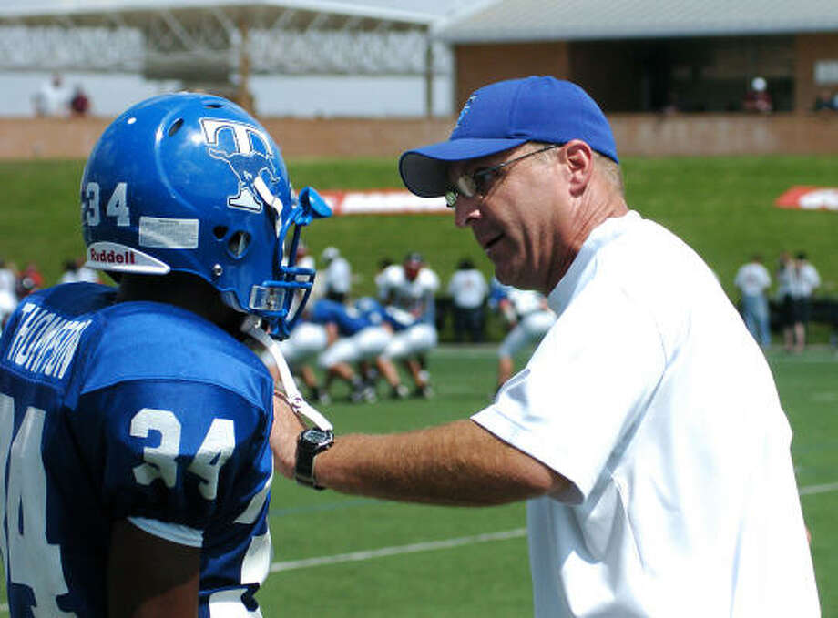 Katy Taylor coach Flint RisienSalary: $102,856Current as of January 2011.Source: Texas Tribune Photo: Kirk Sides, For The Chronicle