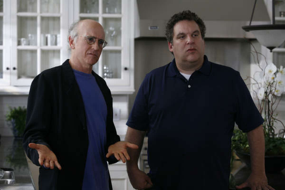 """#25: """"Curb Your Enthusiasm"""" Smart Rating: 85.56 After """"Seinfeld,"""" creator Larry David moved on to """"Curb Your Enthusiasm."""" The show won a Golden Globe in 2003 for best television series (comedy or musical) and was ranked by IMDb as the 89th best television show ever."""