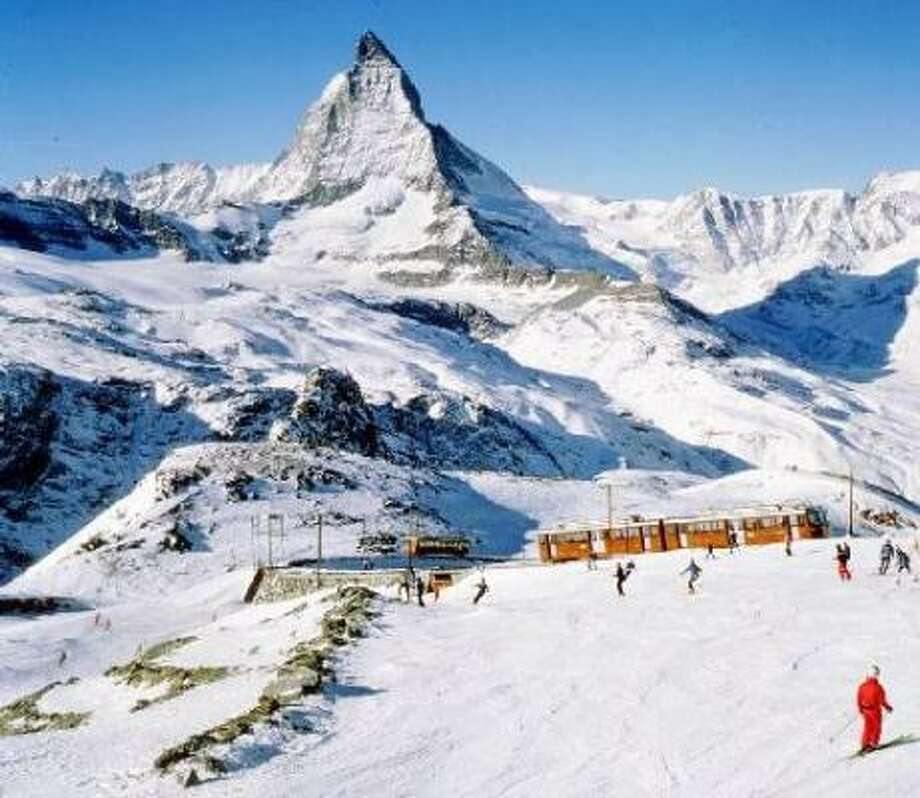 Zermatt, Switzerland:The Matterhorn, fondue, Fendant and Dole wine and — to this Houston commuter's delight — no cars allowed. Photo: Zermatt Tourist Association