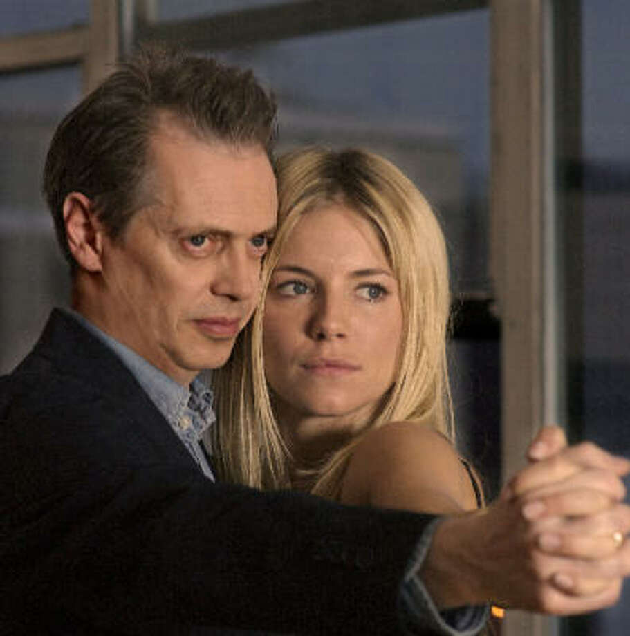 Steve Buscemi and Sienna Miller star in Interview. Photo: Courtesy Photo