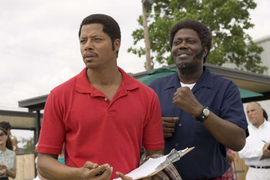 Terrence Howard, left, and Bernie Mac star in Pride. Photo: Lions Gate