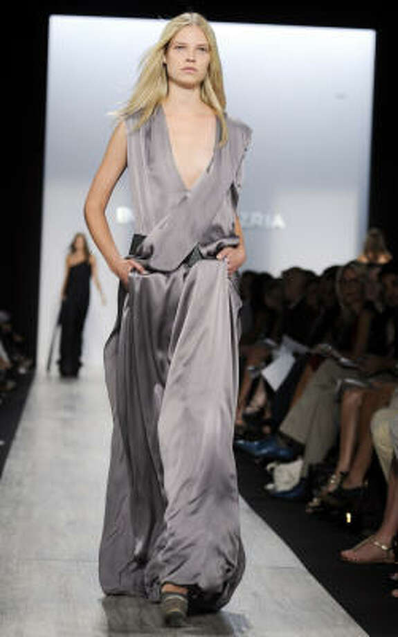 The BCBG Max Azria Spring 2009 fashion show. Photo: RICHARD DREW, AP