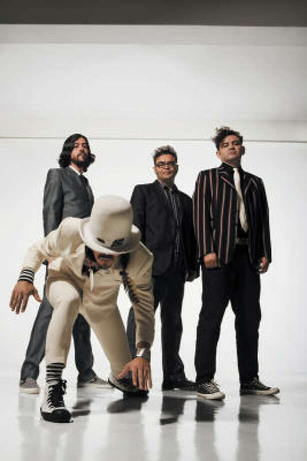 Café Tacuba, a Mexican rock en Espanol band, is up for a leading six awards including record of the year and album of the year. Photo: Universal Music Latino