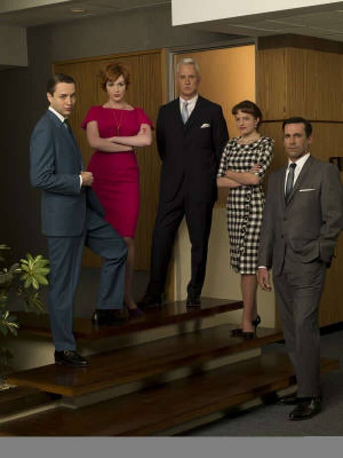 Mad Men, Sundays, 9 p.m. AMC: In its second season, the critically acclaimed series continues to address issues such as sexism and racism, but it's obvious that the old-school, men's club structure in society is beginning to crumble. Photo: AMC