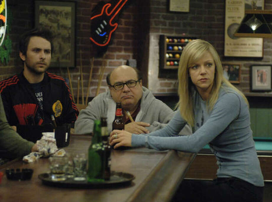 "Can't get enough: ""It's Always Sunny in Philadelphia."" Sometimes, depressing, terrible people are funny.  Photo: Craig Blankenhorn / FX"