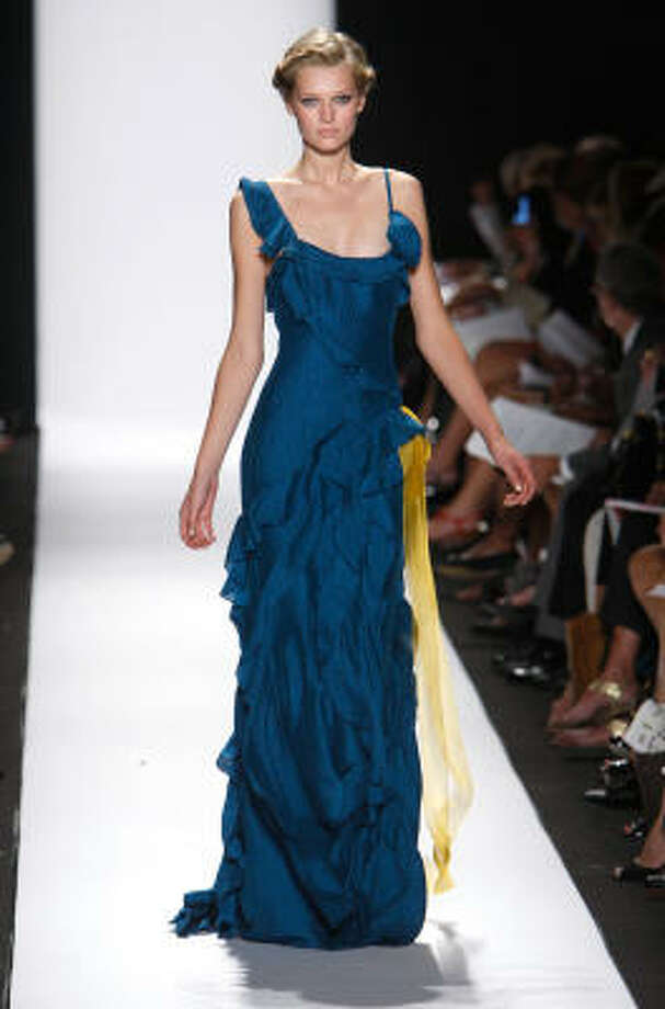 Carolina Herrera Spring 2009. Photo: Frazer Harrison, Getty Images For IMG