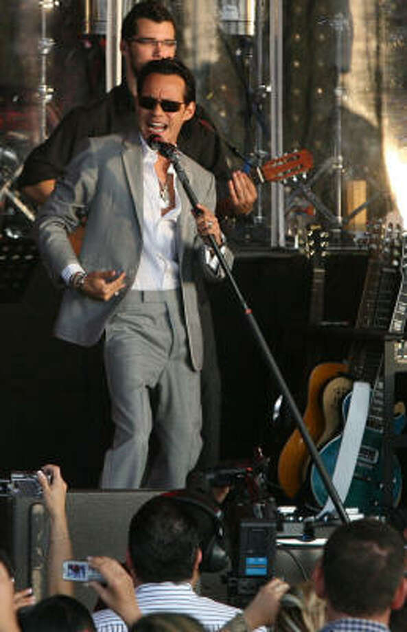Marc Anthony. Photo: Bill Olive, For The Chronicle