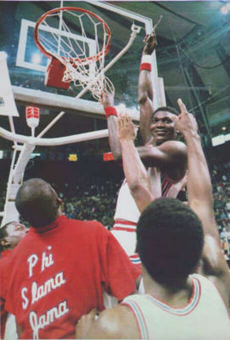 Since Hakeem Olajuwon's 1984 Phi Slama Jama squad at UH advanced to the final against Georgetown, only one other Texas school has made the Final Four. Photo: Associated Press