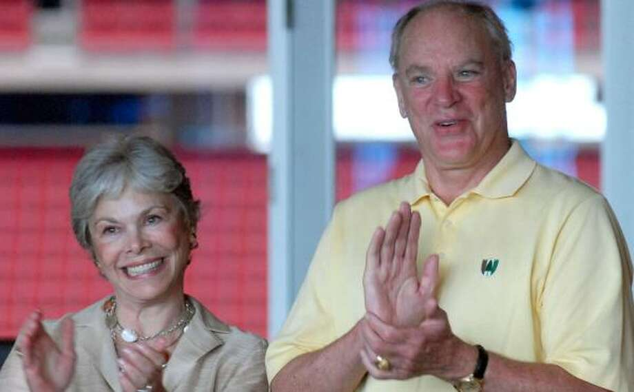 21. Robert and Janice McNair FoundationTotal given in 2012: $8.5 million Photo: Dave Rossman, CHRONICLE FILE