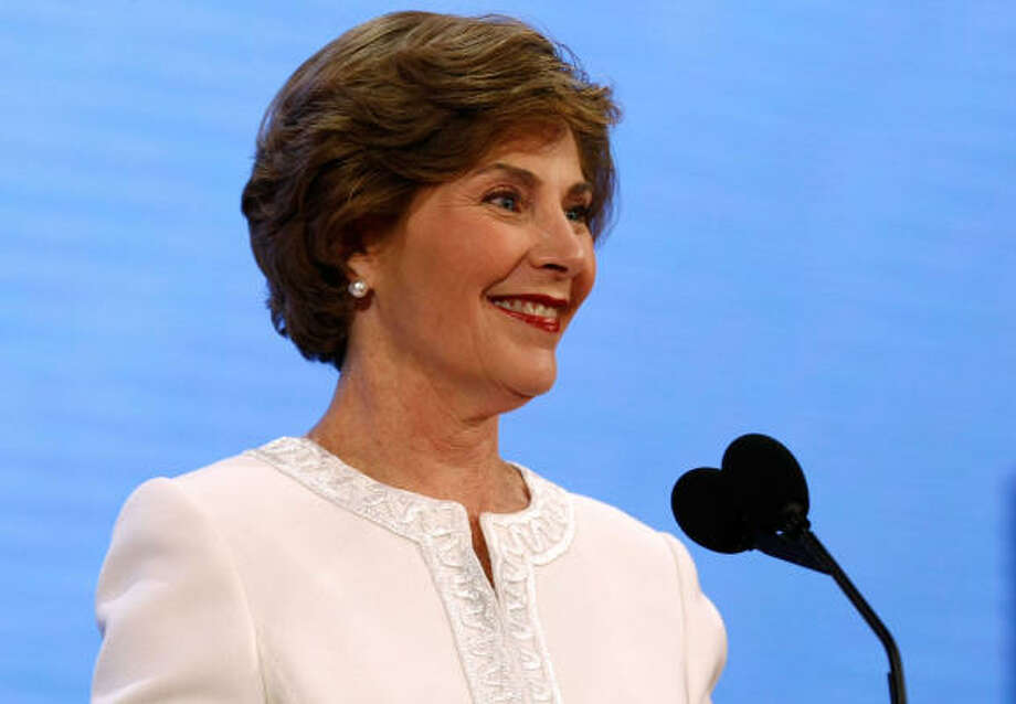 First Lady Laura Bush reared twin daughters Jenna and Barbara. Photo: Chip Somodevilla, Getty Images