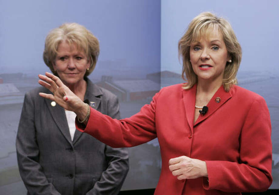 Oklahoma Republican representative Mary Fallin, has two children. Photo: AP