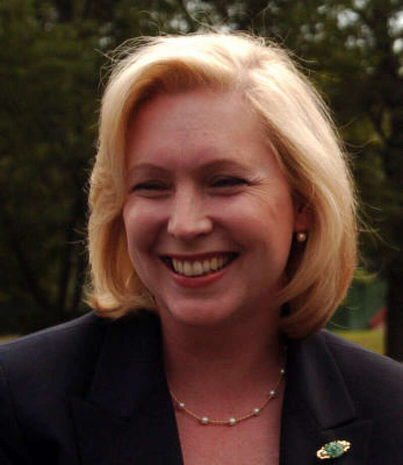 Rep. Kirsten Gillibrand, Democrat from New York, has two young children. Photo: NATHANIEL BROOKS, NYT