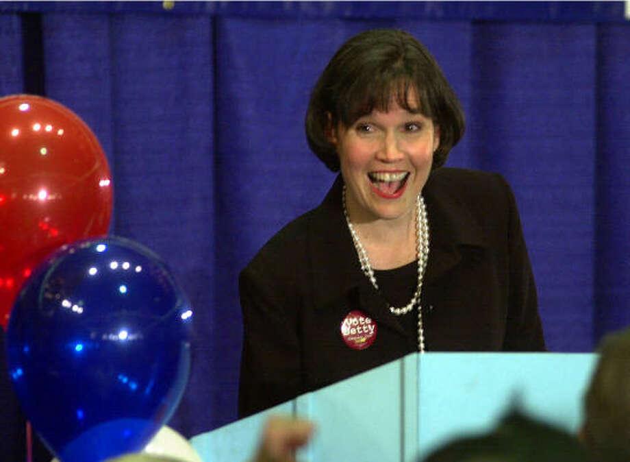 Democrat representative Betty McCollum of Minnesota has two grown children. Photo: JIM MONE, AP
