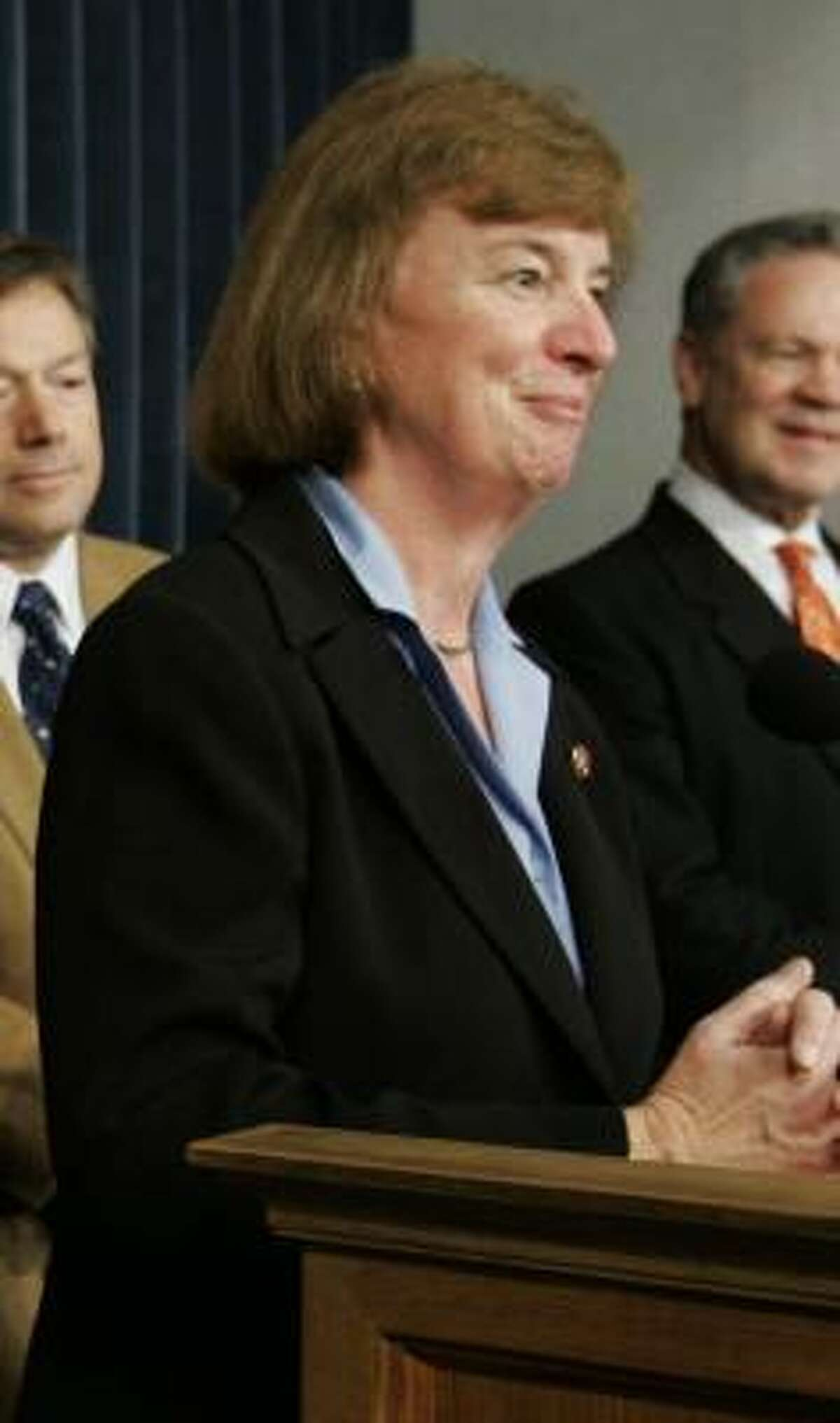 Rep. Carol Shea-Porter, (D-N.H.) Instead of going to the Inauguration, I'll go to religious services to pray for all of our leaders and people, then will serve my district.