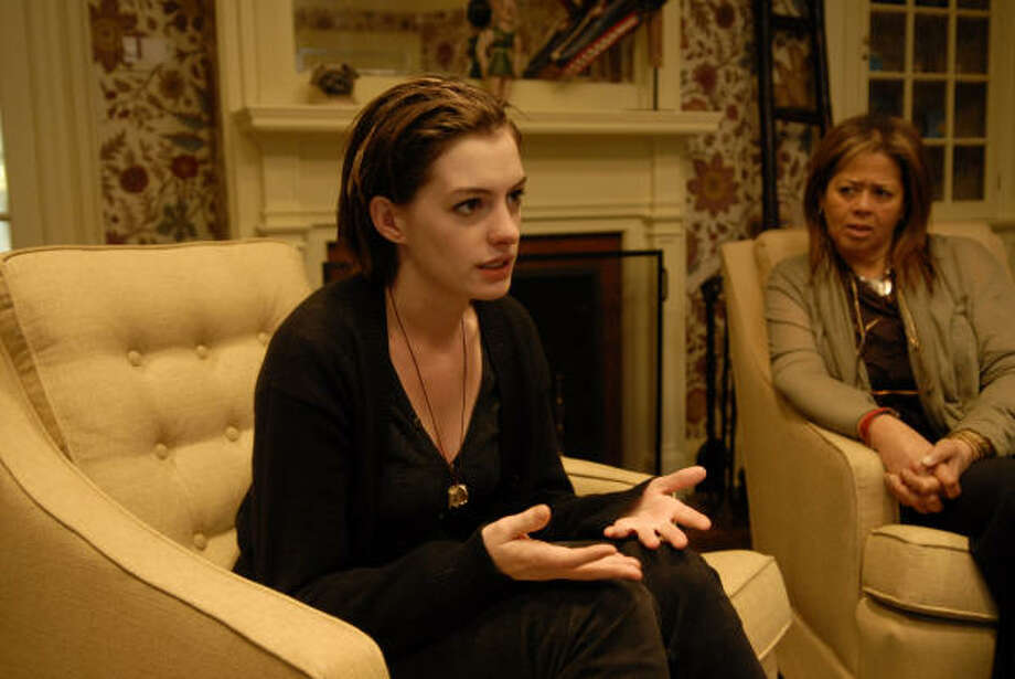 Rachel Getting Married: Anne Hathaway stars as a troubled addict who gets out of rehab to attend her sister's wedding. What happens next is raw and cathartic, funny and real, as family members come to terms with her demons and their painful shared past. Photo: Sony Pictures Classics