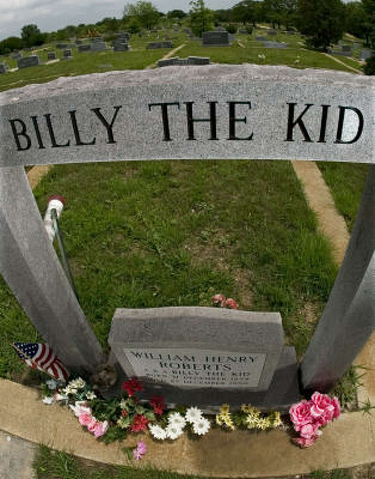 A former New Mexico lawman is seeking permission to exhume the body of ``Brushy Bill'' Roberts, a Billy the Kid claimant who died in 1950. But some locals say they prefer to let the matter lie.