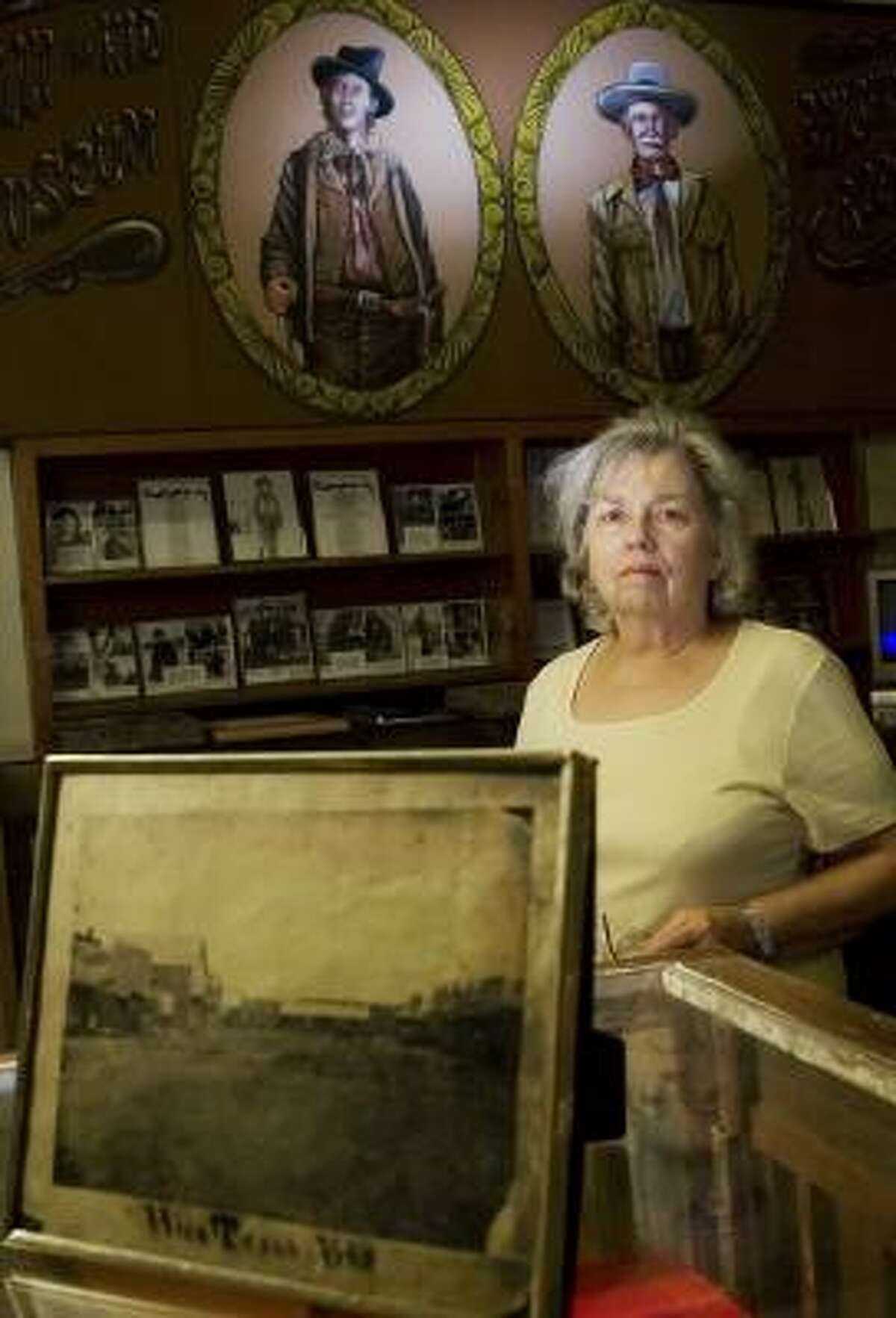 Marguerite Thomas, curator of the Billy the Kid Museum in Hico, says, ``People like the mystery.''