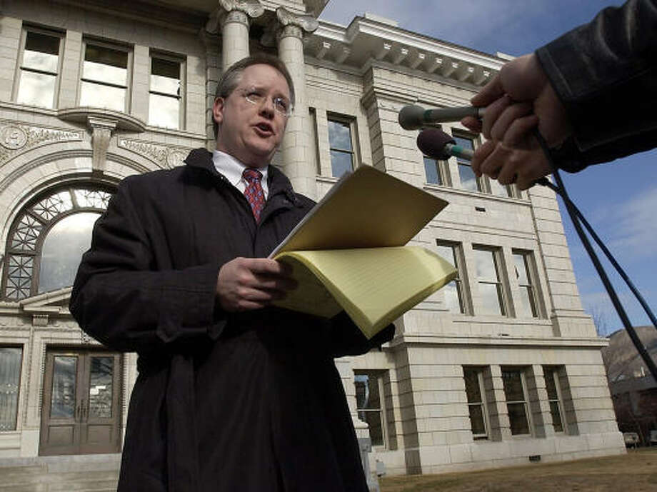 Bill Mercer says he plans to leave Washington and turn his full attention to his work as U.S. attorney for Montana. Photo: TOM BAUER, AP