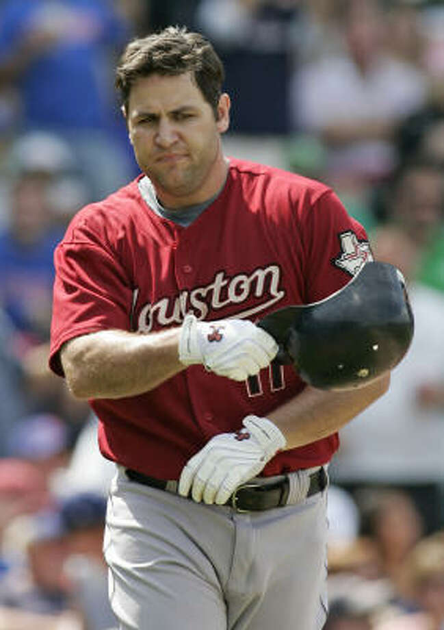 The only chance for Lance Berkman and the Astros to make a run would come if they got the offense hot and shut down opponents in the late innings of high-scoring games. Photo: Jerry Lai, AP