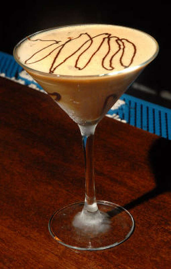 One Deco's famous espresso-flavored martinis. Photo: Dave Rossman, For The Chronicle