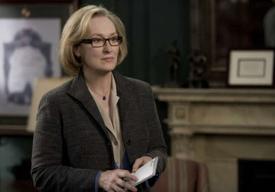 Meryl Streep stars as jousrnalist Janine Roth in Lions for Lambs. Photo: MGM