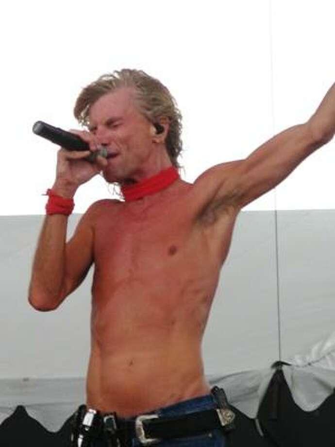 Kix singer Steve Whiteman. Photo: Joey Guerra, Chronicle