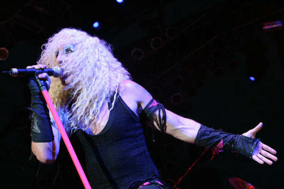 Twisted Sister's Dee Snider. Photo: Bill Olive, For The Chronicle