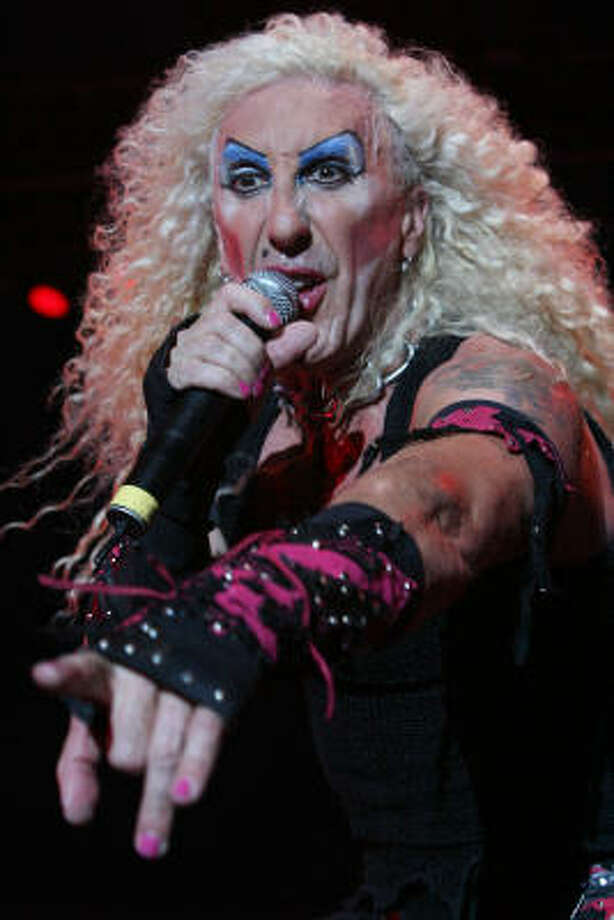 Dee Snider performs with Twisted Sister. Photo: Bill Olive, For The Chronicle