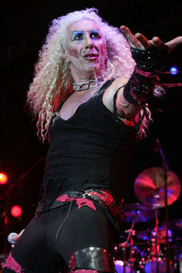 Dee Snider. Photo: Bill Olive, For The Chronicle