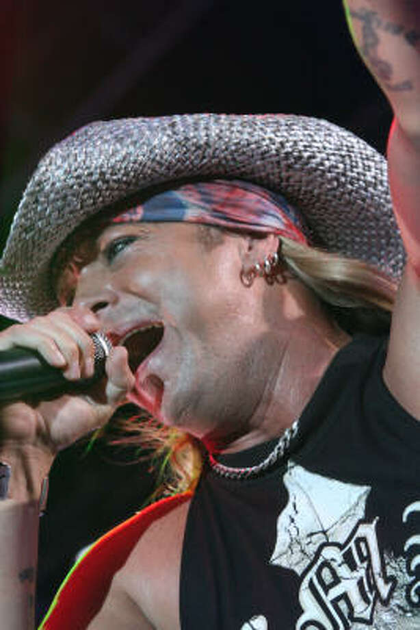 Bret Michaels performs. Photo: Bill Olive, For The Chronicle