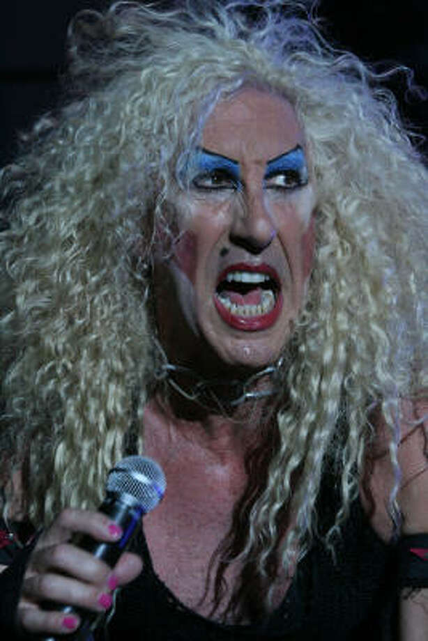 Dee Snider performs. Photo: Bill Olive, For The Chronicle