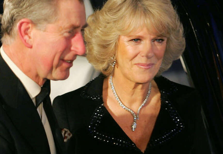 Camilla said Prince Charles and Princes William and Harry invited her to a memorial service this week honoring Princess Diana. Photo: JOHN D MCHUGH, AFP/Getty Images