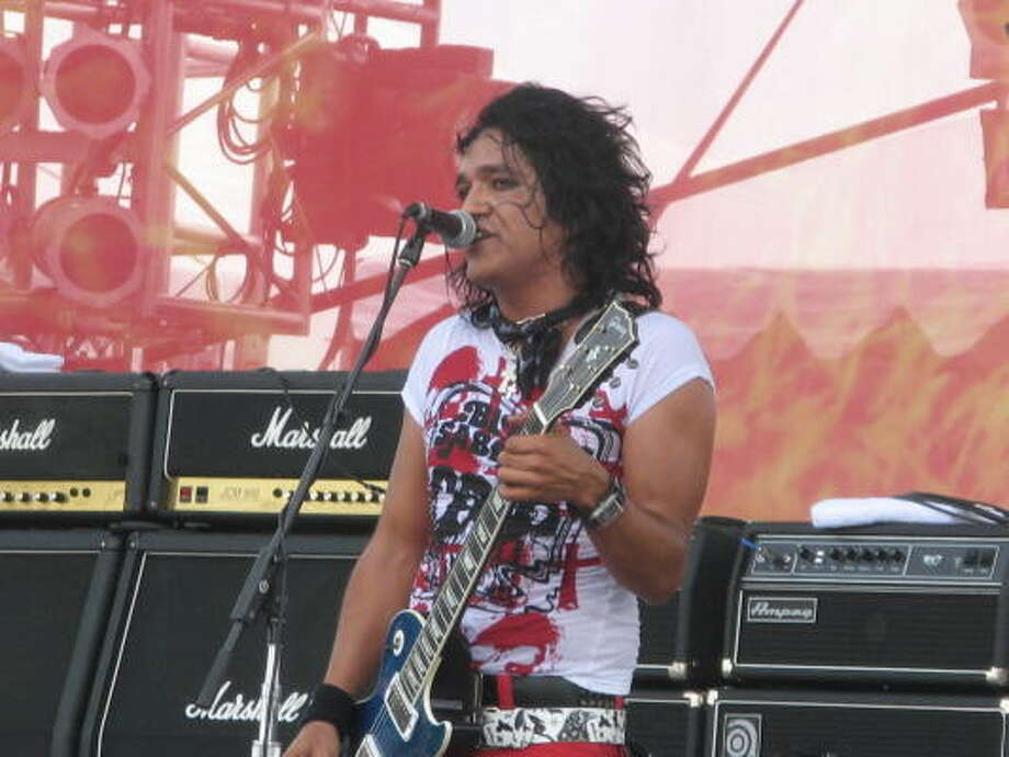 Bulletboys singer Marq Torien. Photo: Joey Guerra, Chronicle