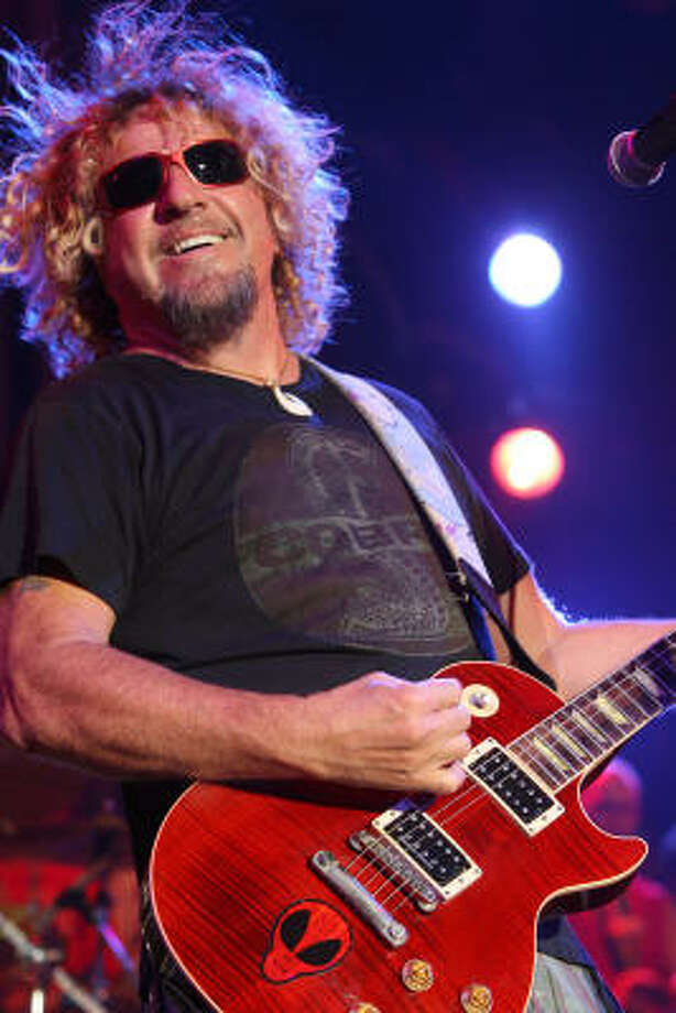 Sammy Hagar ends the second day of the Rock the Bayou festival. Photo: Bill Olive, For The Chronicle