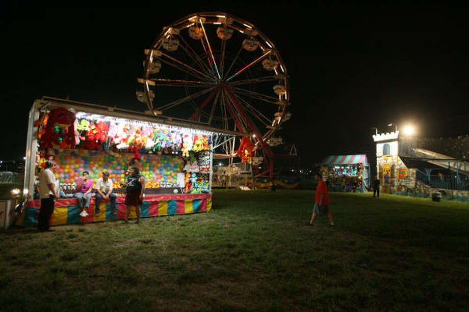 Carnival rides await metal fans. Photo: Bill Olive, For The Chronicle
