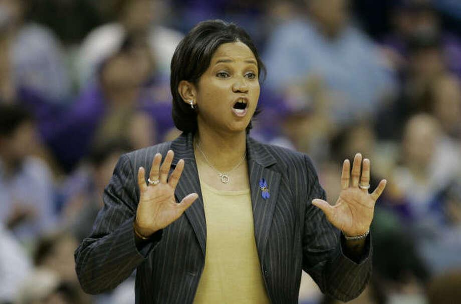 Initially, it was thought that LSU women's basketball coach Pokey Chatman would stick around through the tournament. Those plans changed Thursday. Photo: Alex Brandon, AP